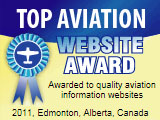 website in the area of aviation with using a very strict set of guidelines